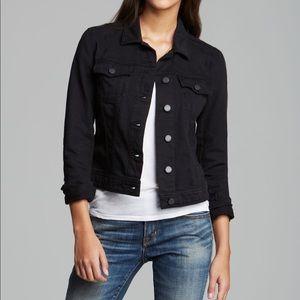 PAIGE Black Vermont Denim Jacket S
